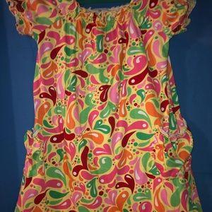 Hanna Andersson Kids Short Sleeved Dress (130)